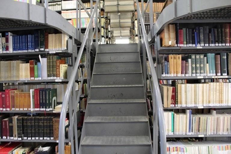 La réserve centrale de la Bibliothèque diocésaine