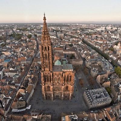 facade Cathédrale Strasbourg