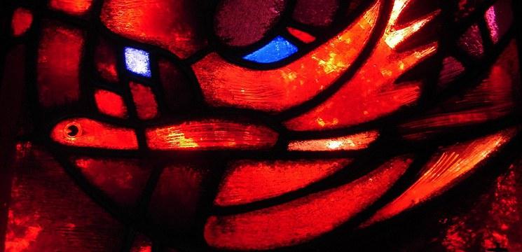 La Pentecôte l Esprit Saint Vitrail de Taizé