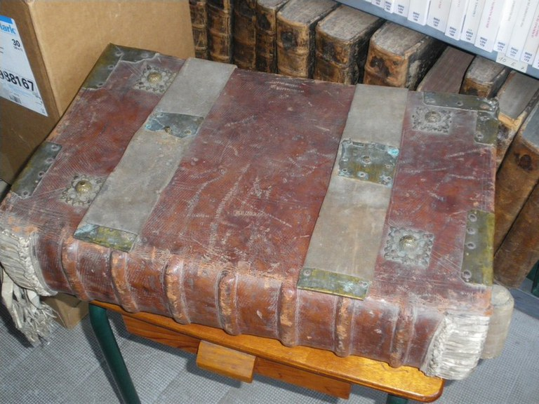 Antiphonaire romain hiver 1624 dos