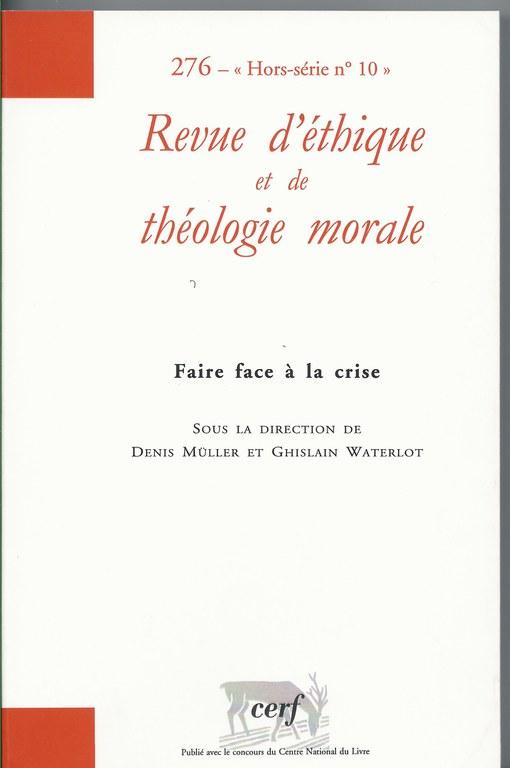 revue dethique et theologie morale