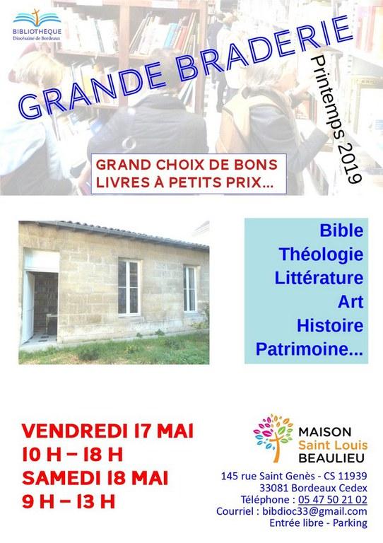 Braderie Printemps 2019