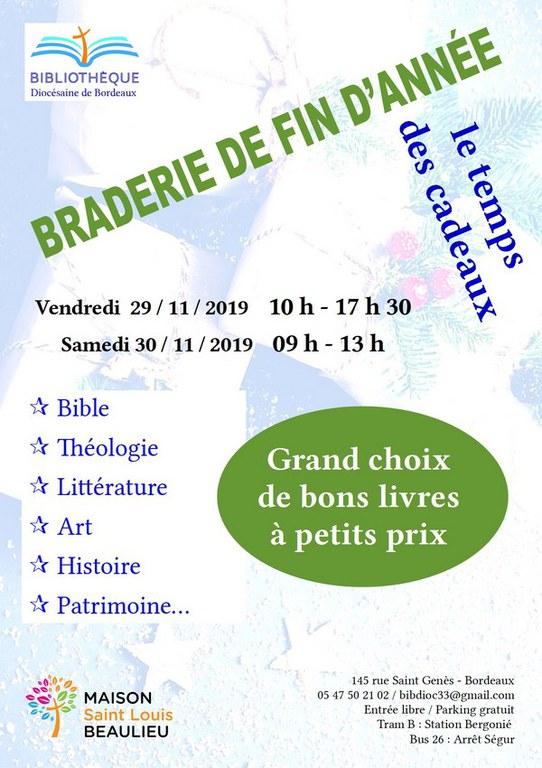 Braderie novembre 2019