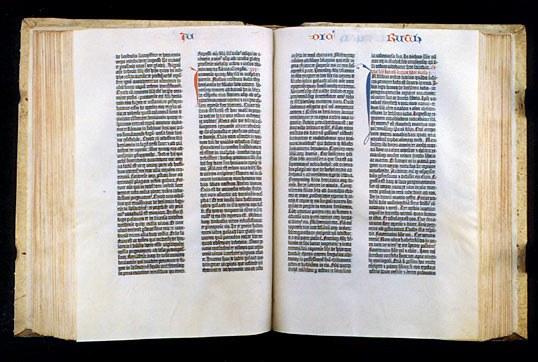 bible gutenberg 1