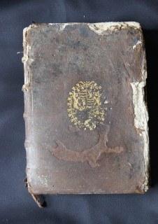 Ouvrage du 16ème siècle avant la restauration